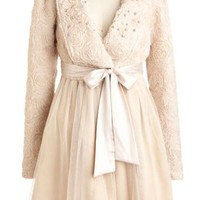 Women's Romantic Pearls Dress Coat Now In Stock - Ryu Clothing for Women