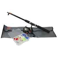 South Bend R2F Telescopic Spin Combo Kit 5ft 6in ML