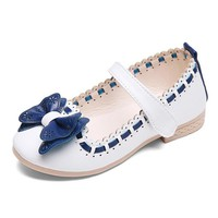 Baby Shoes Shoe Bow Leather