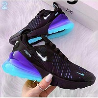NIKE AIR MAX 270 Breathable running shoes-12