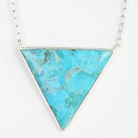 Adorn By Sarah Lewis Turquoise Trifecta Necklace
