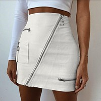 2020 new women's sexy street bag hip skirt dress