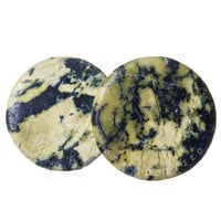 Yellow Turquoise Stone BMA Plugs (3mm-25mm)