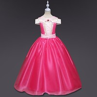 Summer Style Baby Girls Dresses Princess dress Cosplay Party costume Kids cartoon girl Clothing Costume for children