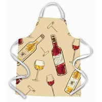 Red and White Wine Apron BB5196APRON