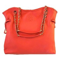 Tory Burch Marion Leather Slouchy Tote Bag