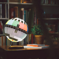 Mono Lamp: A design lamp capturing TV history