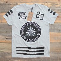 Trappin Jersey Tee Wolf Grey