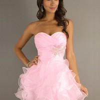 WowDresses — Elegant Ball Gown Sweetheart Mini Graduation Dress/prom dress
