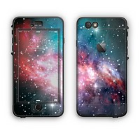 The Colorful Neon Space Nebula Apple iPhone 6 Plus LifeProof Nuud Case Skin Set