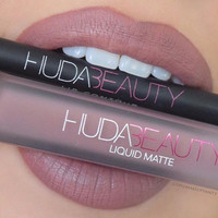 Huda beauty Liquid Matte 16 color & Huda beauty lip pen 9 colors Sets