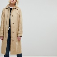 Whistles Zip Detail Trench Coat at asos.com