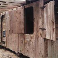 Reclaimed Barn Wood 300 SQ/FT - FREE SHIPPING