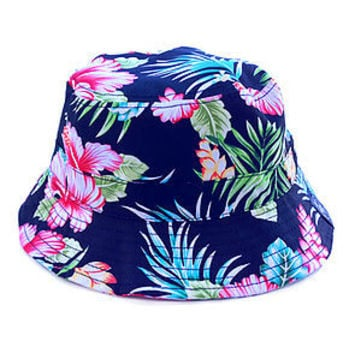 Hula Bucket Hat in Floral