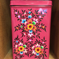 Pink Canister