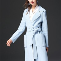 Celeste Double-Faced Wool Coat
