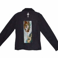 Touch of God Denim Jacket