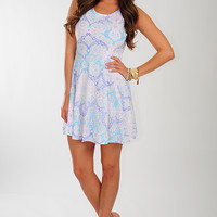What A Life Dress: White/Multi | Hope's