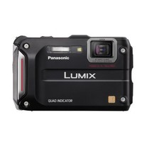 Panasonic Lumix TS4 12.1 TOUGH Waterproof Digital Camera with 4.6x Optical Zoom (Black)