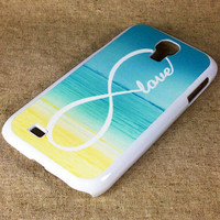 Infinity Sea Beach Samsung Galaxy S4 S3 NOTE 2 Rubber Case and Hard Cover Case