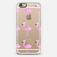 PINK FLAMINGOS iPhone 6 case by Thicket + Thatch | Casetify