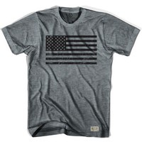American Black Flag Soccer T-shirt