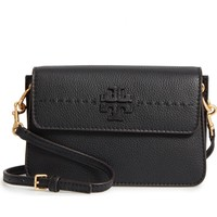 Tory Burch McGraw Leather Shoulder Bag | Nordstrom