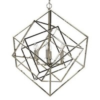 Metron Chandelier | Live In Color Dining5 | Dining Room | Inspiration | Z Gallerie