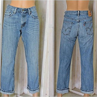 Vintage Levis 559 jeans 30 X 30 / size 7 /8 / high waisted / straight leg / relaxed fit / Womens  Mens