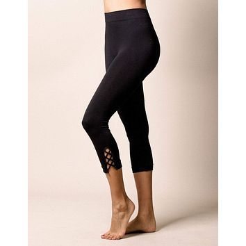 Control Fit Asana Crop Leggings - XL