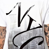 River Island T-Shirt with NYC Print