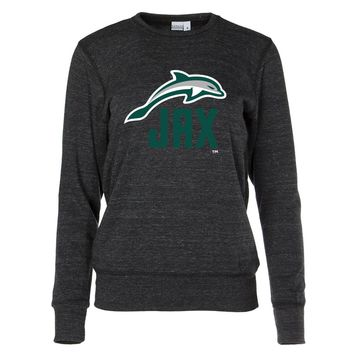 Official NCAA Jacksonville University Dolphins Women's Crew Neck Sweatshirt
