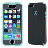 Speck CandyShell Grip Cell Phone Case for iPhone 5C - Grey/Blue (SPK-A2700)