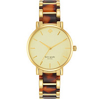 kate spade new york Gramercy Watch - Tortoise/Gold