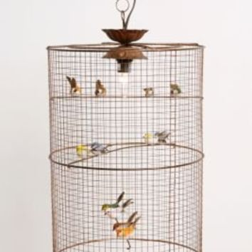 UrbanOutfitters.com > Birdcage Hanging Lamp