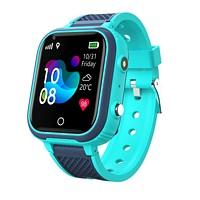 1.4 inch Touch Screen Children Measuring Body Temperature GPS LBS WIFI Location Tracking Two-way Call SOS Camera IP67 Waterproof Kids Smart Watch Phone