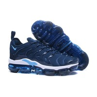 2018 Nike Air VaporMax Plus TN Blue Sport Running Shoes - Best Online Sale