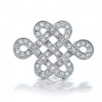 Bling Jewelry Ever Knots Brooch