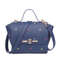 Summer Bat Bags Stylish Print Ladies Tote Bag Shoulder Bag [8384614599]