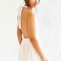 Somedays Lovin Blessings Halter Romper- Rose
