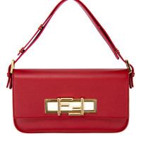 Fendi Red with White 3Baguette