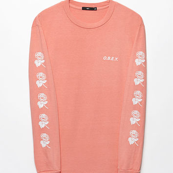 OBEY New Rose 2 Pigment Long Sleeve T-Shirt at PacSun.com