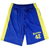Teen Wolf Beavers Basketball Shorts
