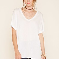 Contemporary Cuffed Tee