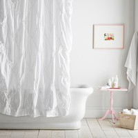 Pintuck Shower Curtain