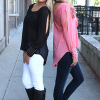 What a Stud Top - Pink