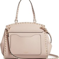 VALENTINO GARAVANI Rockstud Leather Top Handle Bag | Nordstrom