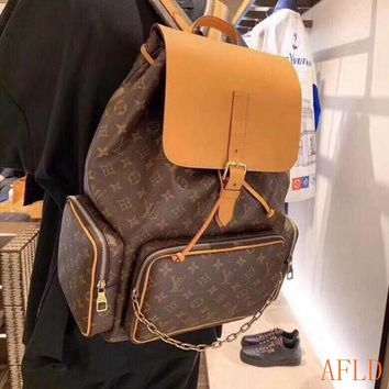 HCXX 19Aug 566 Louis Vuitton LV M44658 Bosphore Large Mountaineering Backpack 45-33-22cm