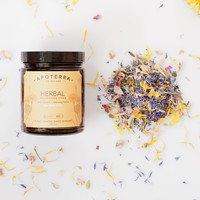 Apoterra Herbal Detoxifying Steam with Flowers + Cleansing Herbs