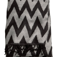 Woven blanket - from H&M